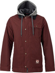 BURTON DUNMORE JACKET Red Underpass Twill