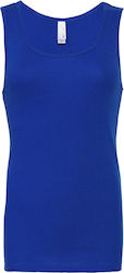 Rib Tank Top Bella 1080: - True Royal