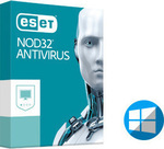 Eset NOD32 Antivirus 2017 (Version 10) (1 Licence , 1 Year) Renewal
