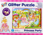 Glitter Puzzle Princess Party 60pcs (1004456) Galt Toys