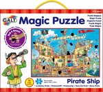 Pirate Ship Magic Puzzle 50pcs (1003850) Galt Toys