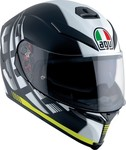 AGV K-5 S Multi - Darkstorm Matt Black/Yellow