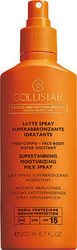 Collistar Supertanning Moisturizing Milk Spray SPF15 200ml