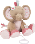 Nattou Musical Rose the Elephant 32cm
