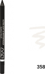MD Professionnel Ultra Soft & Waterproof Eyeliner Pencil 358