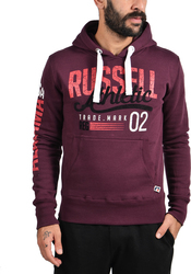 Russell Athletic Pull Over Hoody Cracked A6-052-2-483