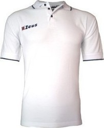 Zeus Polo Golf WHT-BLU