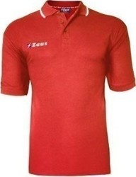 Zeus Polo Golf RED-WHT