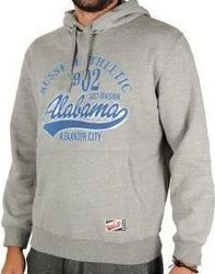 Russell Athletic Pull Over Hoody With Distressed Logo A5-044-2-090
