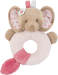 Nattou Ring Rattle Rose the Elephant