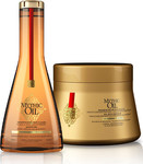 L'Oreal Mythic Oil Offer Shampoo For Thick Hair 250ml & Masque For Thick Hair 200ml