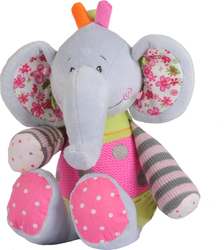 Babyono Soft Toy with Rattle - Big Elephant