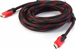 Omnitron HDMI 1.4 Braided Cable HDMI male - HDMI male 5m (HDMI-C0500C)