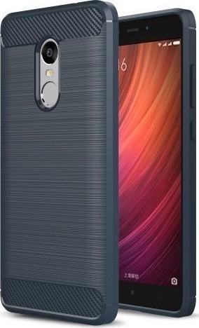pretty nice f51ca a749c Brushed Back Cover Μπλε (Xiaomi Redmi Note 4)