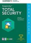 Kaspersky Total Security 2017 (5 Licences , 1 Year)