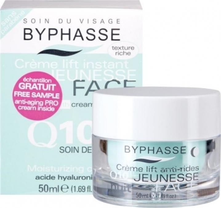b626974154 Προσθήκη στα αγαπημένα menu Byphasse Lift Instant Cream Q10 Night Care 50ml