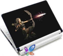 LAMTECH 9.2 -12.4 LAPTOP SKIN WARRIOR PRINCESS LAMSKIN0025
