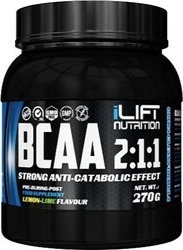 iLIFT BCAA 2:1:1 270gr Lemon Lime