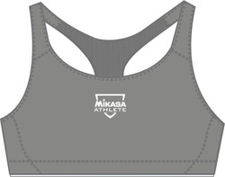 Mikasa Ruri Top Women Underwear Seamless Anthracite MT 454