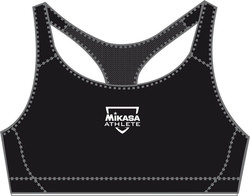 Mikasa Ruri Top Women Underwear Seamless Black MT 454