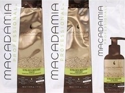 Macadamia Ultra Rich Moisture Shampoo 10ml & Conditioner 10ml & Healing Oil Treatment 5ml