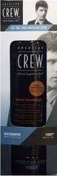 American Crew Get The Look Pack Daily Shampoo 250ml & Fiber 85gr