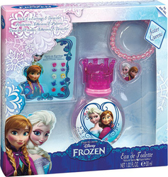 Disney Frozen Earrings & Bracelet & Eau de Toilette 30ml