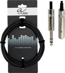Alpha Audio Cable 6.3mm male - 6.3mm female 3m (190.711)