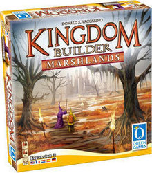 Queen Games Kingdom Builder: Marshlands 3rd Expansion