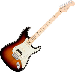 Fender American Professional Stratocaster 3-Color Sunburst Maple