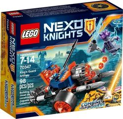 Lego King's Guard Artillery 70347