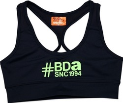 Body Action Racerback Sports Bra 041508 Black