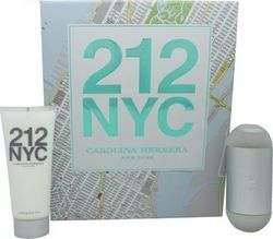 Carolina Herrera 212 NYC Eau de Toilette 60ml & Body Lotion 100ml