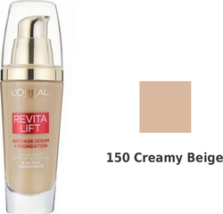 L'Oreal RevitaLift Anti-age Serum+ Foundation 150 Creamy 25ml