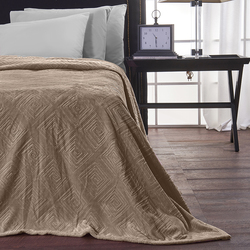 19V69 Υπέρδιπλη Fleece Meandro Taupe