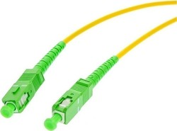 Opton Optical Fiber SC/APC-SC/APC Cable 15m Πράσινο (52610)