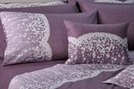 Down Town Home Υπέρδιπλη Σετ Lace Purple S622