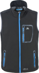 Trespass Chimborazo Softshell Gilet Black