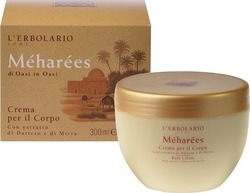 L' Erbolario Meharees Body Cream With Extract of Date and Myrrh 300ml