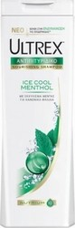 Ultrex Ice Cool Menthol for Normal Hair 400ml