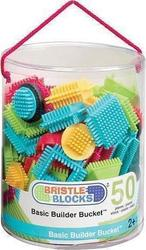 Mybtoys Bristle Blocks Basic Builder Bucket 50τμχ
