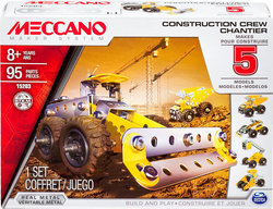 Meccano 5 Model Set: Construction Crew