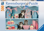 Kittens and Cupcakes 500pcs (14684) Ravensburger