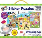 Sticker Ρuzzle Dressing Up 4x12pcs Galt Toys