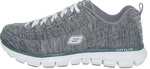 Skechers Elite Heathered Jersey Lace Up 11863-GRY