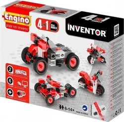 Engino Inventor 4 in 1 Models Motorbikes