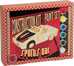 Professor Puzzle Construction & Paint Set - Sport Car