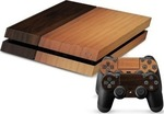 OEM Sticker Skin Protector Light Wood Console & Dualshocks PS4