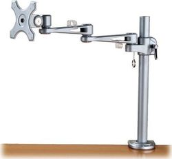 Roline Single LCD Monitor Arm 4 Joints Desk Clamp