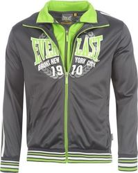 Everlast Fluo Double Zip 555132 Charcoal